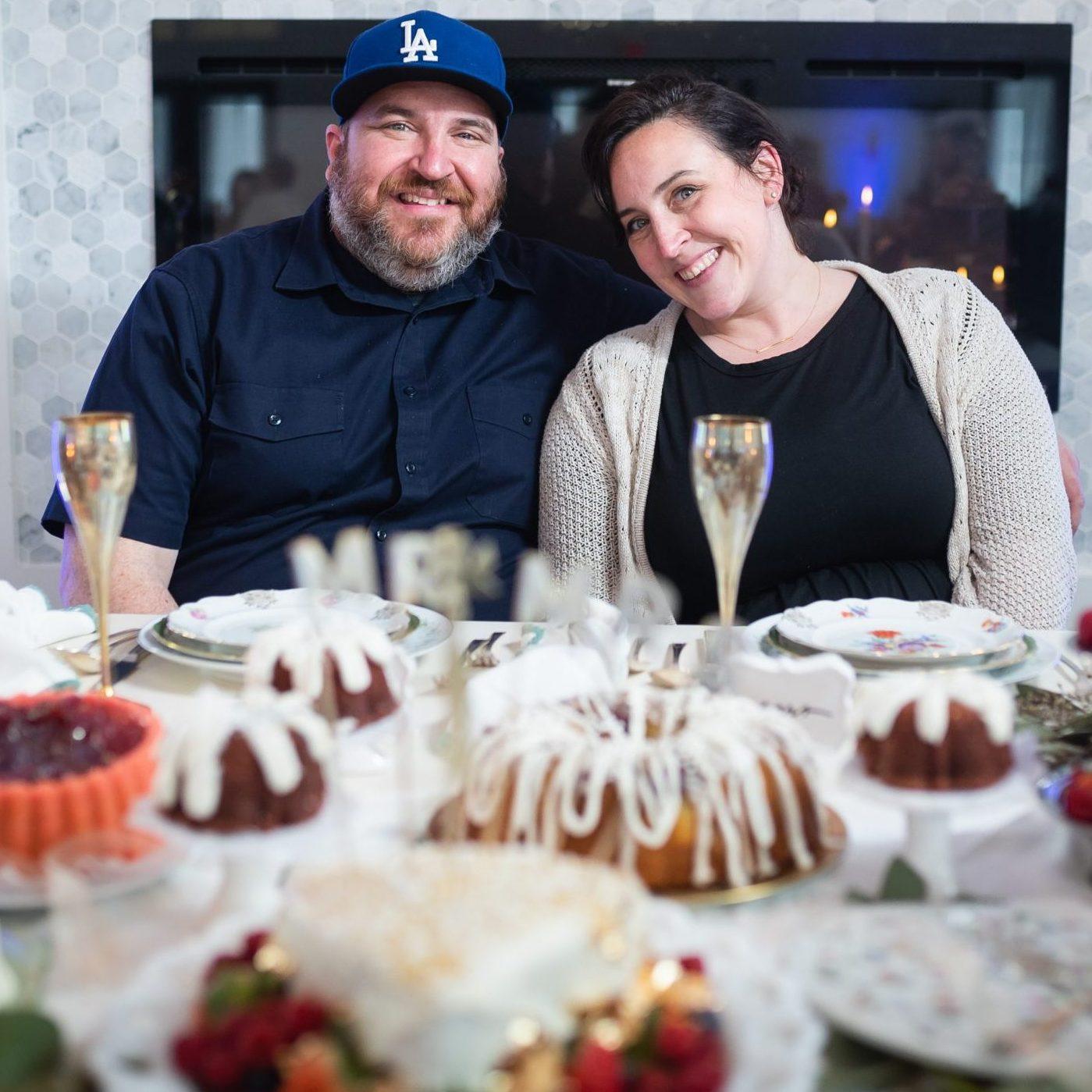 Mike and Sarah Hasenauer